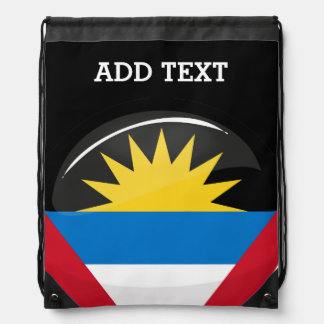 Antigua and Barbuda Drawstring Bag