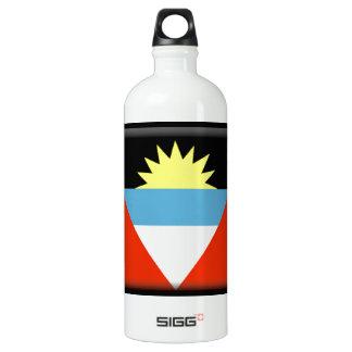 Antigua and Barbuda Flag Aluminum Water Bottle