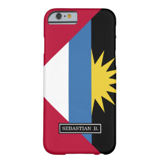 Antigua and Barbuda Flag Barely There iPhone 6 Case