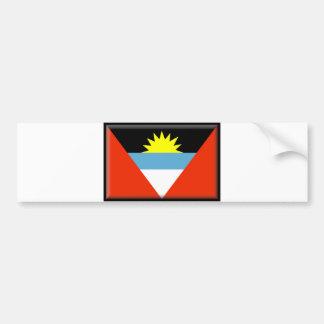 Antigua and Barbuda Flag Bumper Sticker