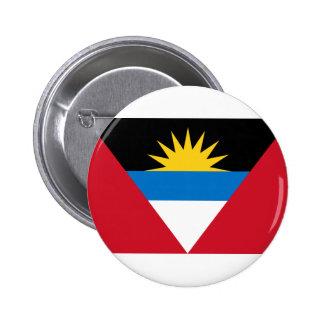 Antigua and Barbuda Flag Button