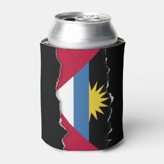 Antigua and Barbuda Flag Can Cooler