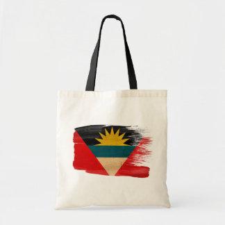 Antigua and Barbuda Flag Canvas Bags