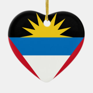 Antigua and Barbuda Flag Ceramic Ornament