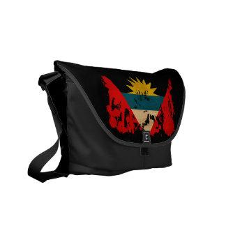 Antigua and Barbuda Flag Courier Bag