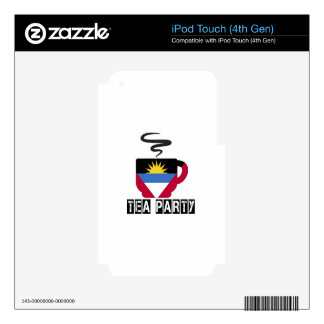 Antigua and Barbuda Flag Designs iPod Touch 4G Decals