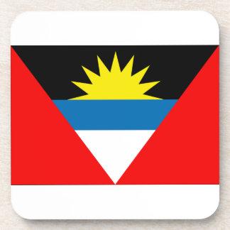Antigua and Barbuda Flag Drink Coaster