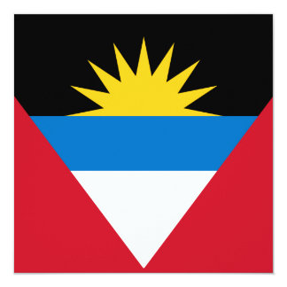 Antigua and Barbuda Flag Invitation