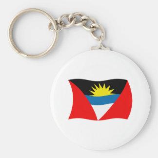 Antigua and Barbuda Flag Keychain