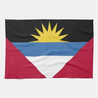 Antigua and Barbuda Flag Kitchen Towel