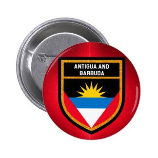 Antigua And Barbuda Flag Pinback Button