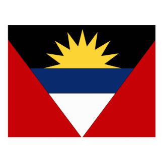 Antigua and Barbuda Flag Post Card