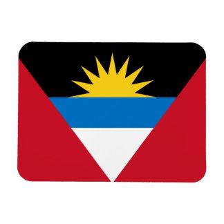 Antigua and Barbuda Flag Premium Magnet