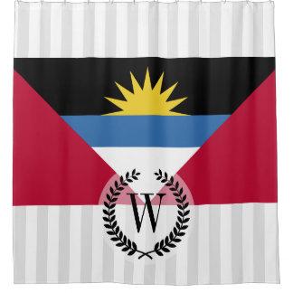 Antigua and Barbuda Flag Shower Curtain
