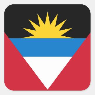 Antigua and Barbuda Flag Sticker