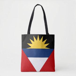 Antigua and Barbuda Flag Tote Bag