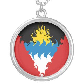 Antigua and Barbuda Gnarly Flag Custom Jewelry