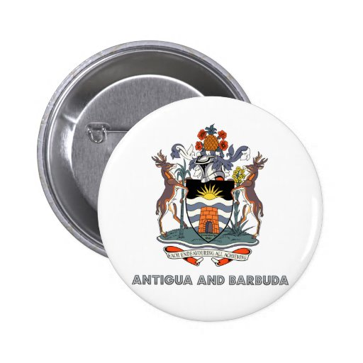 Antigua And Barbuda High Quality Coat of Arms Buttons