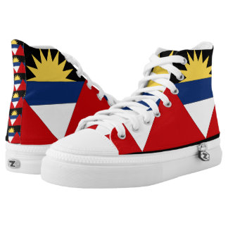 Antigua and Barbuda High-Top Sneakers