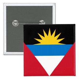 antigua and barbuda pinback button