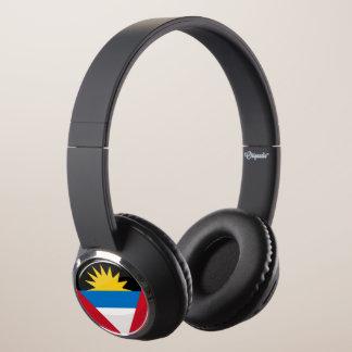Antigua and Barbuda Round Flag Headphones