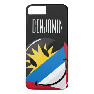 Antigua and Barbuda Smiley iPhone 8 Plus/7 Plus Case