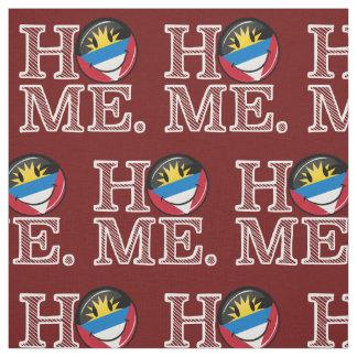 Antigua and Barbuda Smiling Flag Housewarming Fabric