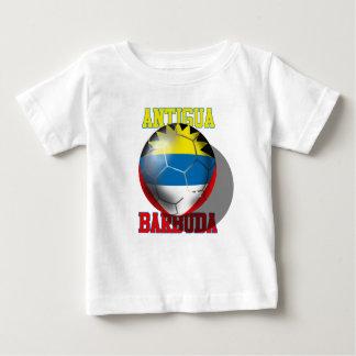 Antigua and barbuda soccer lovers flag ball baby T-Shirt