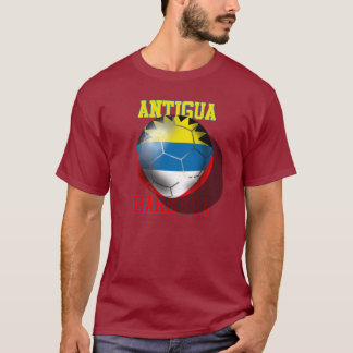 Antigua and barbuda soccer lovers flag ball T-Shirt