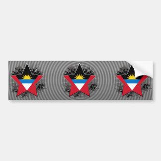 Antigua and Barbuda Star Bumper Sticker