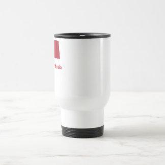 Antigua and Barbuda Waving Flag with Name Travel Mug
