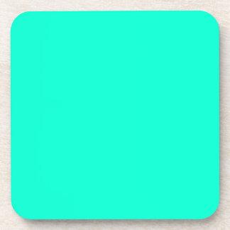 Antigua Aqua Aquamarine Blue Green Tropical Coasters
