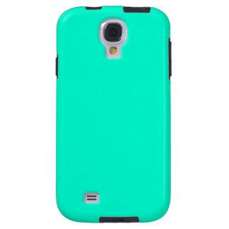 Antigua Aqua Aquamarine Blue Green Tropical Galaxy S4 Case