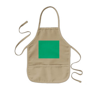 Antigua Aqua Aquamarine Blue Green Tropical Kids' Apron