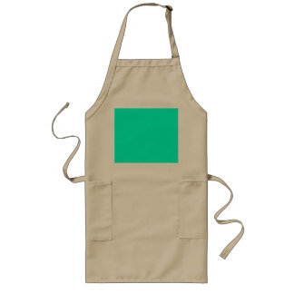 Antigua Aqua Aquamarine Blue Green Tropical Long Apron