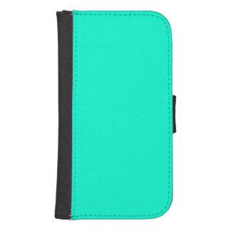 Antigua Aqua Aquamarine Blue Green Tropical Phone Wallet