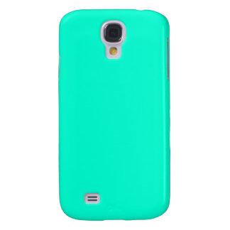 Antigua Aqua Aquamarine Blue Green Tropical Samsung Galaxy S4 Cover