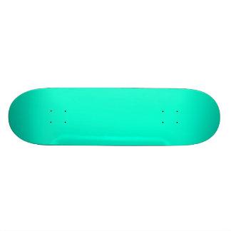 Antigua Aqua Aquamarine Blue Green Tropical Skate Board Deck