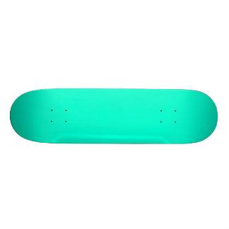 Antigua Aqua Aquamarine Blue Green Tropical Skateboard