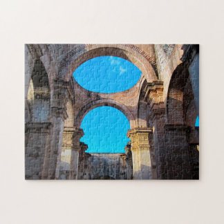 Antigua Architecture Historical Ruins. Jigsaw Puzzle
