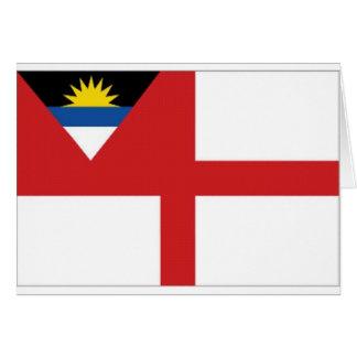 Antigua Barbuda Coastguard Ensign Card