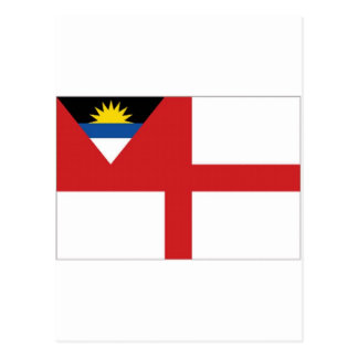 Antigua Barbuda Coastguard Ensign Postcard