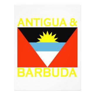 Antigua & Barbuda Custom Flyer