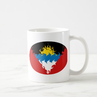 Antigua & Barbuda Gnarly Flag Mug