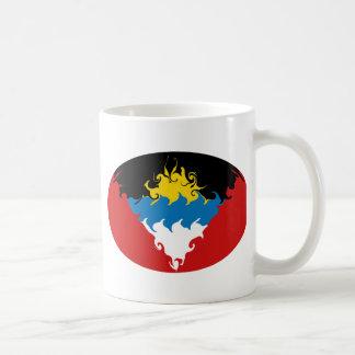 Antigua & Barbuda Gnarly Flag Mug