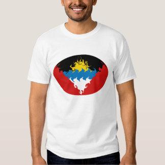 Antigua & Barbuda Gnarly Flag T-Shirt
