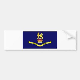 Antigua Barbuda Governor General Flag Bumper Sticker
