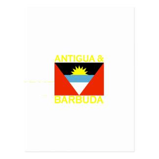 Antigua & Barbuda Postcard