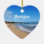 Antigua Beach Ornament