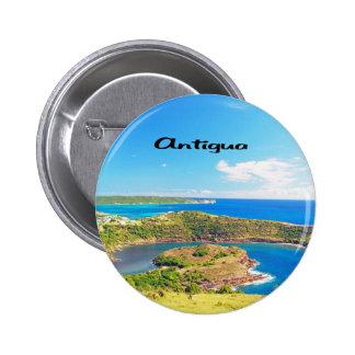 Antigua Pinback Button